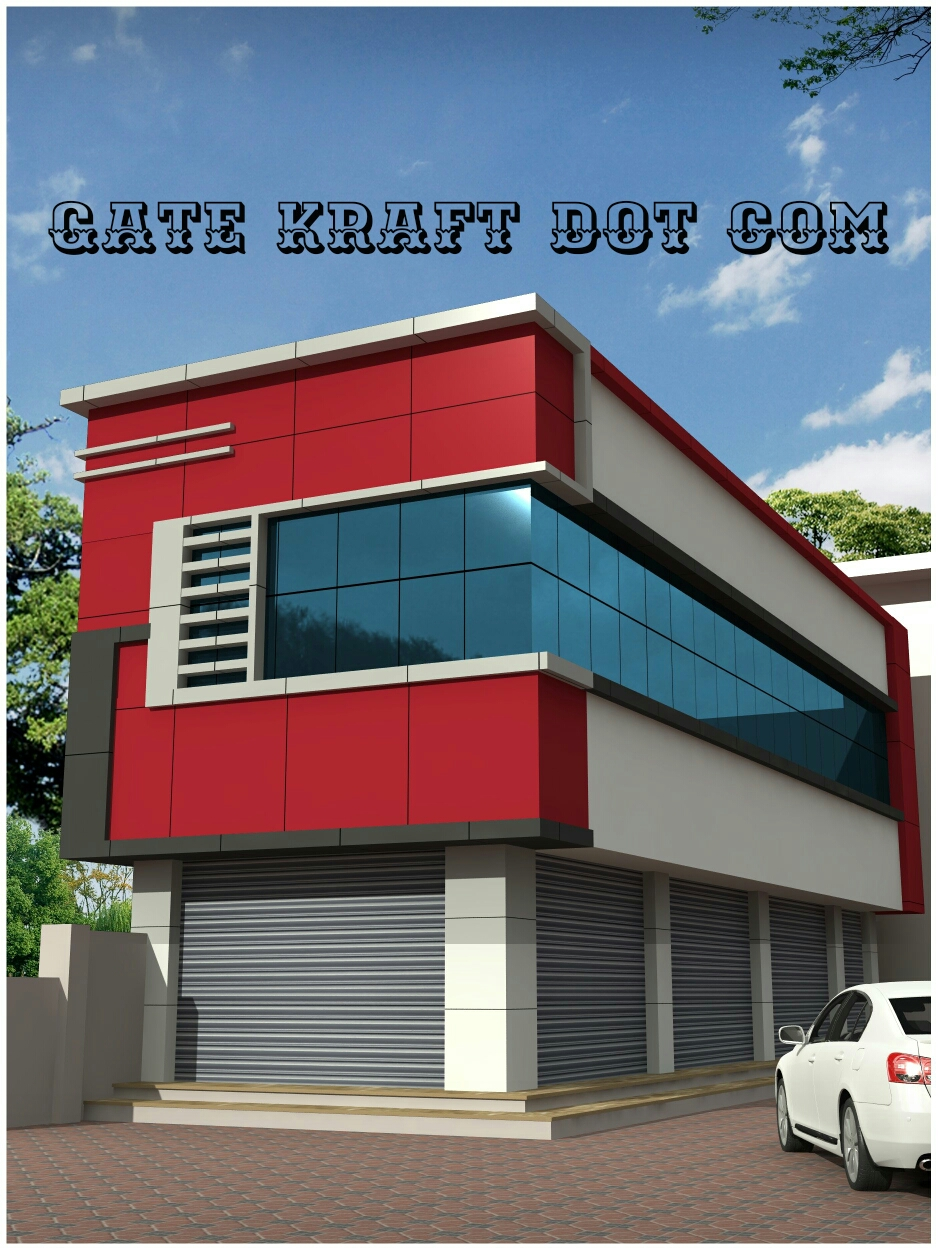 Front Elevation Of House In Gurgaon : House front elevation facade cladding hpl acp