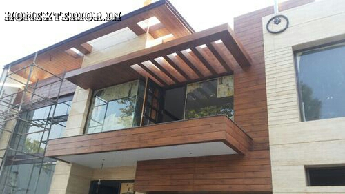 Wood Cladding Elevation : Hpl fundermax stylam exterior cladding elevation