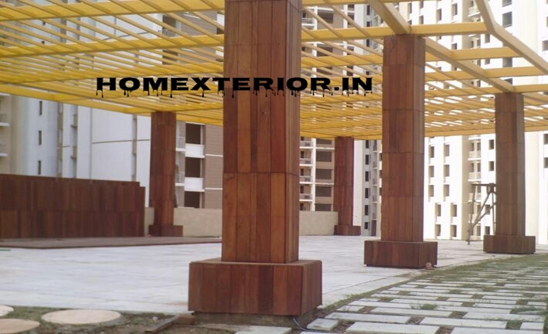 Wood Cladding Elevation : Hpl fundermax stylam ipe wood exterior cladding acp